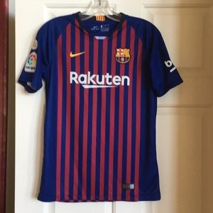 Other - Messi Nike drifit youth jersey from FC Barcelona!